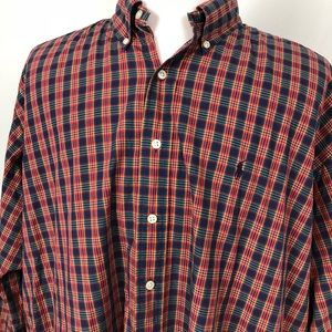 Ralph Lauren Plaid Blake Button Down Shirt XXL